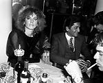 DALILA DI LAZZARO CON VALENTINO GARAVANI<br /> SERATA VALENTINO AL GRAND HOTEL ROMA 1981
