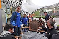 08.04.2014: Andrew Luck im Münchner Olympiapark