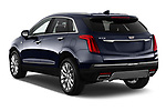 Car pictures of rear three quarter view of 2019 Cadillac XT5 Platinum 5 Door Suv Angular Rear