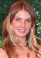 PACIFIC PALISADES, CA, USA - OCTOBER 11: Angela Lindvall arrives at the 5th Annual Veuve Clicquot Polo Classic held at Will Rogers State Historic Park on October 11, 2014 in Pacific Palisades, California, United States. (Photo by Xavier Collin/Celebrity Monitor)