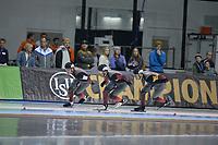 SPEEDSKATING: 15-02-2020, Utah Olympic Oval, ISU World Single Distances Speed Skating Championship, Team Pursuit Men, Team Canada (CAN), ©photo Martin de Jong