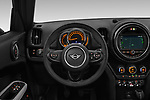Car pictures of steering wheel view of a 2018 Mini Countryman Oakwood 5 Door Hatchback