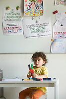 homeschooling, educazione parentale, educazione domestica. Nicholas tre anni