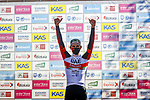 Tadej Pogacar (SLO) UAE Team Emirates wins Stage 3 of the Itzulia Basque Country 2021, running 167.7km from Amurrio to Laudi/Ermualde, Spain. 7th April 2021.  <br /> Picture: Luis Angel Gomez/Photogomezsport | Cyclefile<br /> <br /> All photos usage must carry mandatory copyright credit (© Cyclefile | Luis Angel Gomez/Photogomezsport)