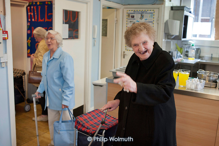 Age UK Camden's Hillwood Resource Centre, which will close in June 2011 following cuts to the organisation's funding.