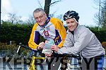 David Elton and Donnacha Clifford  Launch their Cycling Book of Kerry