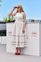 Elisabeth MOSS en photocall pour le film THE SQUARE, lors du soixante-dixième (70ème) Festival du Film à Cannes, Palais des Festivals et des Congres, Cannes, Sud de la France, samedi 20 mai 2017. Philippe FARJON / VISUAL Press Agency