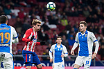 Atletico de Madrid Antoine Griezmann during La Liga match between Atletico de Madrid and Leganes at Wanda Metropolitano Stadium in Madrid , Spain. February 28, 2018. (ALTERPHOTOS/Borja B.Hojas)