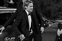 """VENICE, ITALY - AUGUST 29: Brad Pitt walks the red carpet ahead of the """"Ad Astra"""" screening during during the 76th Venice Film Festival at Sala Grande on August 29, 2019 in Venice, Italy."""