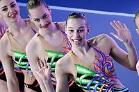 Team UKRAINE UKR <br /> HIGHLIGHTS <br /> Artistic Swimming<br /> Budapest  - Hungary  15/5/2021<br /> Duna Arena<br /> XXXV LEN European Aquatic Championships<br /> Photo Andrea Staccioli / Deepbluemedia / Insidefoto