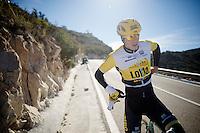 Sep Vanmarcke (BEL/LottoJumbo)<br /> <br /> Team Lotto Jumbo winter training camp<br /> Mojácar, Spain, January 2015