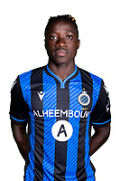 20th August 2020, Brugge, Belgium;  Amadou Sagna forward of Club Brugge pictured during the team photo shoot of Club Brugge NXT prior the Proximus league football season 2020 - 2021 at the Belfius Base camp