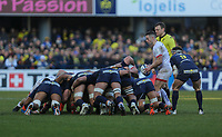 11 January 2020; John Cooney during the Heineken Champions Cup Pool 3 Round 5 match between ASM Clermont Auvergne and Ulster at Stade Marcel-Michelin in Clermont-Ferrand, France. Photo by John Dickson/DICKSONDIGITAL