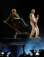 SMG_Bono_Adam Clayton_U2 360 Tour_062911_06.JPG<br /> <br /> MIAMI, FL - JUNE 29:  Bono,The Edge, Adam Clayton, and Larry Mullen Jr. of U2 performs at Sun Life Stadium.  on June 29, 2011 in Miami Gardens, Florida.  (Photo By Storms Media Group)<br />  <br /> People:   Bono_Adam Clayton<br /> <br /> Must call if interested<br /> Michael Storms<br /> Storms Media Group Inc.<br /> 305-632-3400 - Cell<br /> 305-513-5783 - Fax<br /> MikeStorm@aol.com