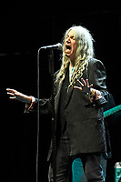 OCT 04 Patti Smith performing at Royal Albert Hall, Kensington, London