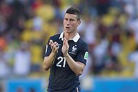 Laurent Koscielny of France looks dejected