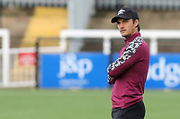 Brentford FC B Team Assistant Coach, Sam Saunders during Bromley vs Brentford B, Friendly Match Football at Hayes Lane on 3rd October 2020