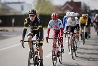 Niki Terpstra (NED/Direct Energie)<br /> <br /> 74th Dwars door Vlaanderen 2019 (1.UWT)<br /> One day race from Roeselare to Waregem (BEL/183km)<br /> <br /> ©kramon