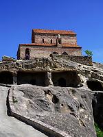 Höhlenstadt Uplisziche - Uplistsikhe, Innerkartlien, Georgien, Europa<br /> late Hellenistic cave city Uplisziche, Shida Kartli,  Georgia, Europe