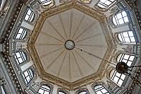 Dome inside Santa Maria Della Salute church, Venice, Italy