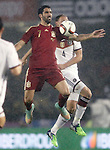 Spain's Raul Garcia (l) and Germany's Howedes during international friendly match.November 18,2014. (ALTERPHOTOS/Acero)