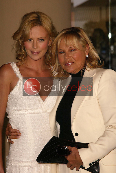 Charlize Theron and mother Gerda