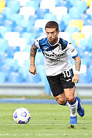 Alejandro Dario Gomez of Atalanta BC<br /> during the Serie A football match between SSC Napoli and Atalanta BC at stadio San Paolo in Napoli (Italy), October 17th, 2020. <br /> Photo Cesare Purini / Insidefoto