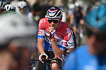 Dutch Champion Mathieu Van Der Poel (NED) Alpecin Fenix before the start of Stage 1 of Tirreno-Adriatico Eolo 2021, running 156km from Lido di Camaiore to Lido di Camaiore, Italy. 10th March 2021. <br /> Photo: LaPresse/Marco Alpozzi   Cyclefile<br /> <br /> All photos usage must carry mandatory copyright credit (© Cyclefile   LaPresse/Marco Alpozzi)