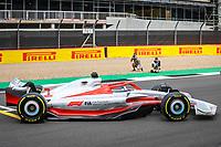 15th July 2021, Silverstone Circuit, Northampton, England;  2022 car launch during the Formula 1 Pirelli British Grand Prix 2021, 10th round of the 2021 FIA Formula One World Championship