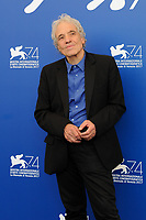 U.S. director Abel Ferrara attends a photo call for his movie 'Piazza Vittorio' at the 74th Venice Film Festival on September 8, 2017 in Venice, Italy.<br /> UPDATE IMAGES PRESS/Marilla Sicilia<br /> <br /> *** ONLY FRANCE AND GERMANY SALES ***