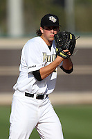 UCF Knights pitcher Chris Matulis #41 during a game against the Siena Saints at the UCF Baseball Complex on March 3, 2012 in Orlando, Florida.  UCF defeated Siena 6-4.  (Mike Janes/Four Seam Images)