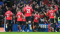 James Ward-Prowse celebrates scoring Southampton's opening goal during Chelsea vs Southampton, Premier League Football at Stamford Bridge on 2nd October 2021