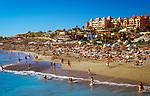 Spanien, Kanarische Inseln, Teneriffa, Costa Adeje: Strand - Playa de Fanabe | Spain, Canary Islands, Tenerife, Costa Adeje: beach - Playa de Fanabe