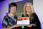 Pix: Shaun Flannery/shaunflanneryphotography.com<br /> <br /> COPYRIGHT PICTURE>>SHAUN FLANNERY>01302-570814>>07778315553>><br /> <br /> 4th April 2014.<br /> The Rotherham Athena Awards 2014.<br /> Honouree Mary Verity