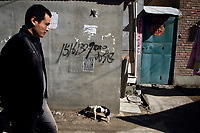 CHINA. Beijing. Lao San Yu Village (a migrant worker village) in the southern district, Daxing. 2010