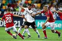 Magnus Kofod Andersen of Denmark , Marco Richter of Germany , Rasmus Kristensen of Denmark <br /> Udine 17-06-2019 Stadio Friuli <br /> Football UEFA Under 21 Championship Italy 2019<br /> Group Stage - Final Tournament Group A<br /> Germany - Denmark  <br /> Photo Cesare Purini / Insidefoto