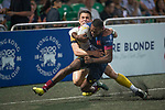 Penguin International vs UBB Gavekal during the Cup Final as part of the GFI HKFC Rugby Tens 2017 on 06 April 2017 in Hong Kong Football Club, Hong Kong, China. Photo by Marcio Rodrigo Machado / Power Sport Images