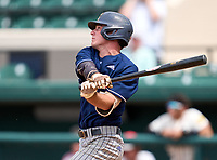 Calvary Christian Academy Eagles Johnny Lane (2) during the 42nd Annual FACA All-Star Baseball Classic on June 5, 2021 at Joker Marchant Stadium in Lakeland, Florida.  (Mike Janes/Four Seam Images)