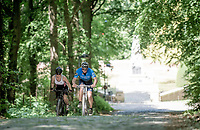 Climbing the infamous Kemmelberg<br /> <br /> cycling hotspots & impressions in Heuvelland<br /> <br /> Cycling In Flanders <br /> Flanders Tourist Board<br /> <br /> ©kramon