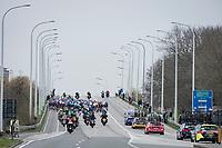 the peloton<br /> <br /> 105th Ronde van Vlaanderen 2021 (MEN1.UWT)<br /> <br /> 1 day race from Antwerp to Oudenaarde (BEL/264km) <br /> <br /> ©kramon