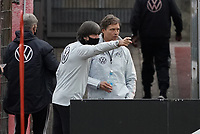 Bundestrainer Joachim Loew (Deutschland Germany) und Co-Trainer Marcus Sorg (Deutschland Germany) <br /> - 05.10.2020: Training der Deutschen Nationalmannschaft, Suedstadion Koeln<br /> DISCLAIMER: DFB regulations prohibit any use of photographs as image sequences and/or quasi-video.
