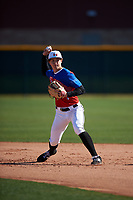 Irvin Murr III during the Under Armour All-America Tournament powered by Baseball Factory on January 18, 2020 at Sloan Park in Mesa, Arizona.  (Zachary Lucy/Four Seam Images)