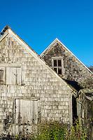 Rundown abandoned house, Maine