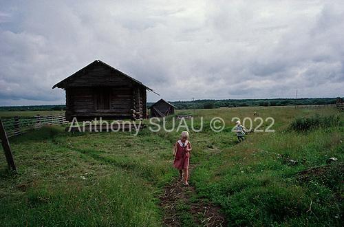 Lohoma, Russia<br /> July, 1998<br /> <br /> Life in a Russian village.