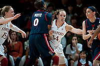 STANFORD, CA - JANUARY 6: Kayla Pedersen at Maples Pavilion, January 6, 2011 in Stanford, California.