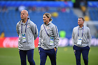 LE HAVRE, FRANCE - JUNE 20: Graeme Abel, Jill Ellis during a 2019 FIFA Women's World Cup France group F match between the United States and Sweden at Stade Océane on June 20, 2019 in Le Havre, France.