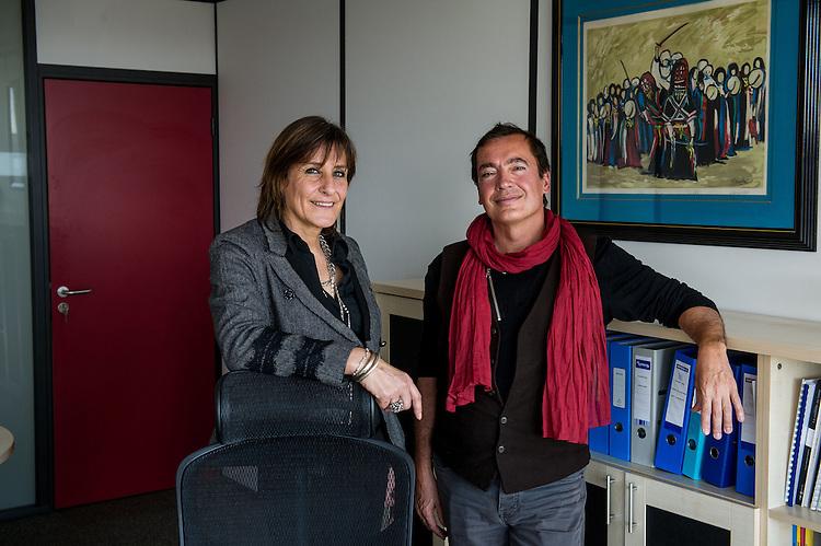 Fabienne REMANT-DOLE, directeur administratif et Bruno Crovi, Directeur Médical - Soin assistance: Association d'aide à domicile, soins à domicile, hospitalisation à domicile installé à «Plein Ouest»,  Zone franche urbaine ZFU - Marseille 2013