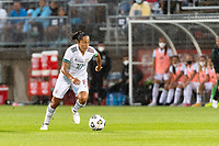 EAST HARTFORD, CT - JULY 1: Stephany Mayor #10 of Mexico during a game between Mexico and USWNT at Rentschler Field on July 1, 2021 in East Hartford, Connecticut.