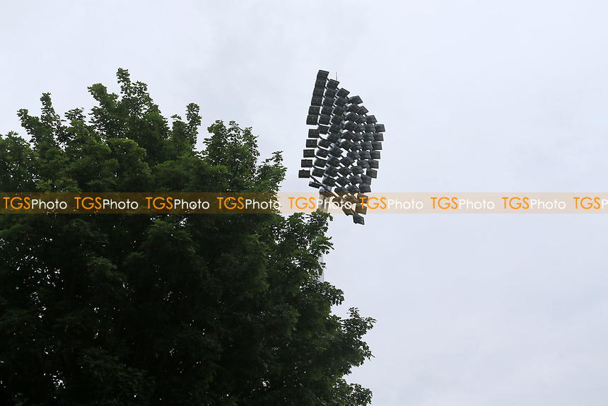 Floodlight and tree ahead of Essex CCC vs Nottinghamshire CCC, LV Insurance County Championship Group 1 Cricket at The Cloudfm County Ground on 4th June 2021