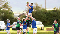 Saturday 10th October 2020 | Ballynahinch vs Queens<br /> <br /> David Whitten during the Energia Community Series clash between Ballynahinch and Queens at Ballymacarn Park, Ballynahinch, County Down, Northern Ireland. Photo by John Dickson / Dicksondigital